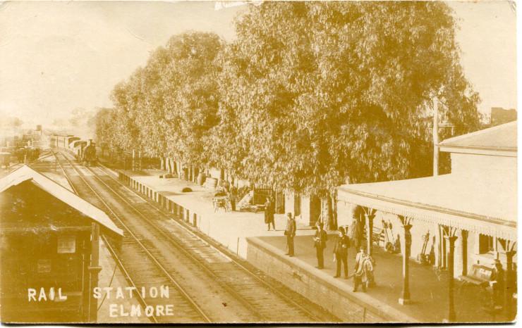 Elmore Railway Station