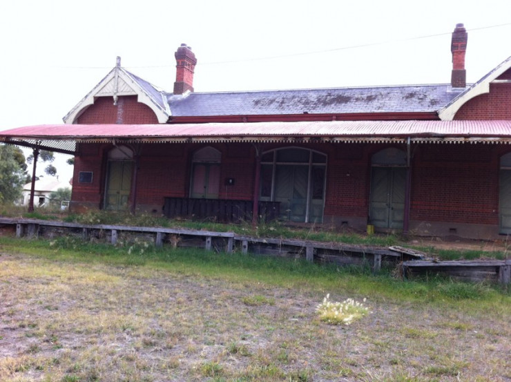 Former Rupanyup Railway Station