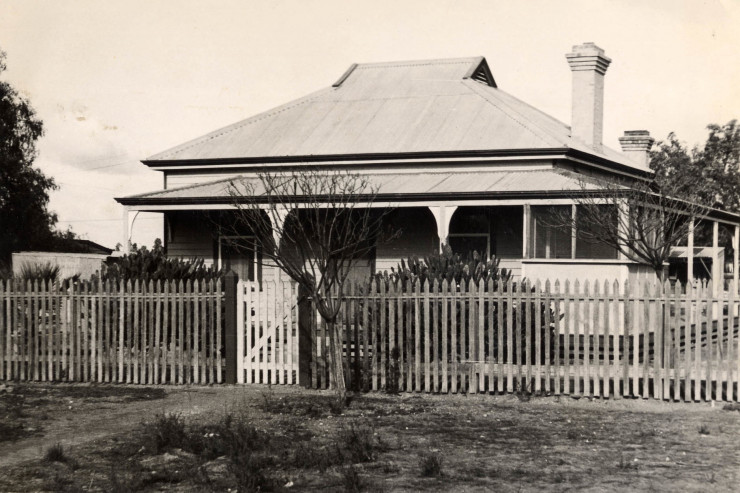 Irymple Station Masters residence c1952