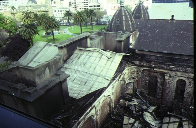 former baptist church house ext roof