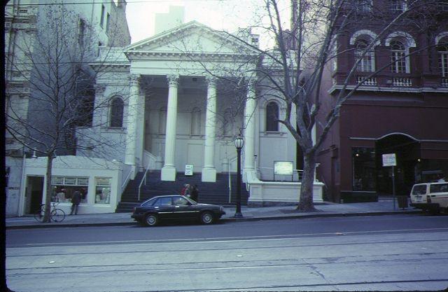 1 baptist church melb exterior front