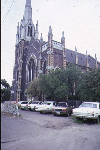 presbyterian church north melb exterior front
