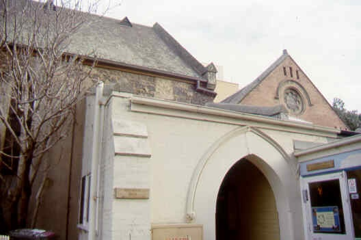 presbyterian union memorial church north melb church hall rear sw aug1999