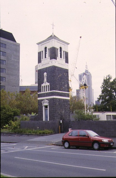 st patricks cathedral east melb college tower