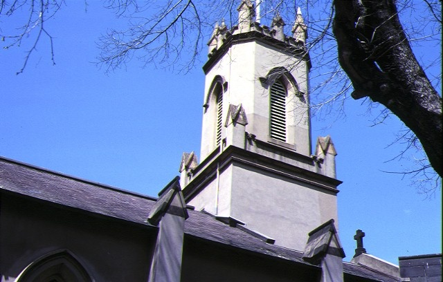 st peters church and vicarage exterior tower