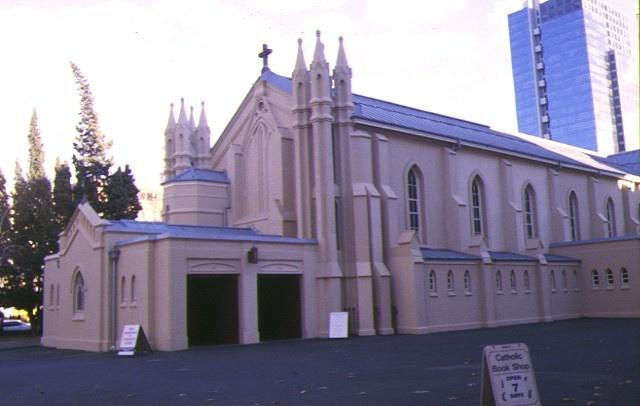 1 st francis catholic church melb east side view