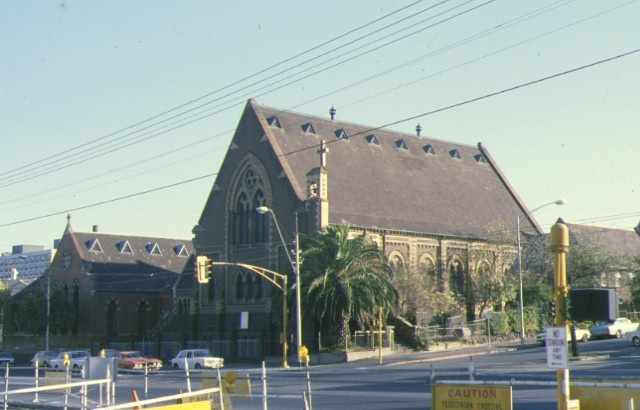 st judes church of england lygon street carlton front view