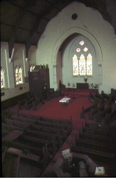 st judes church of england lygon street carlton interior