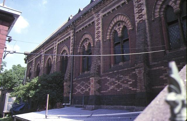 st judes church of england lygon street carlton side elevation dec1978
