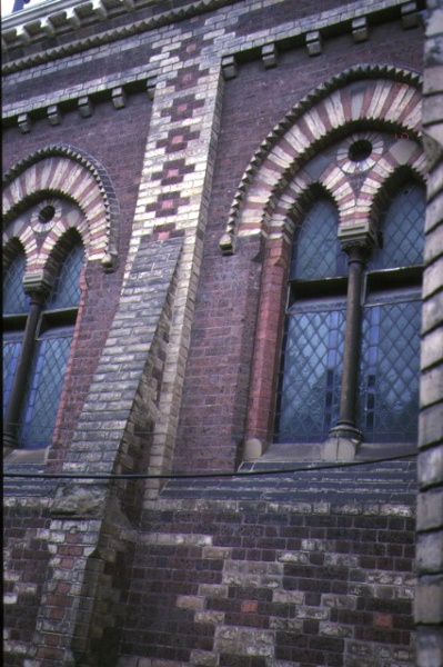st judes church of england lygon street carlton window detail