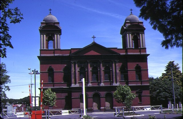 1 sacred heart church front view