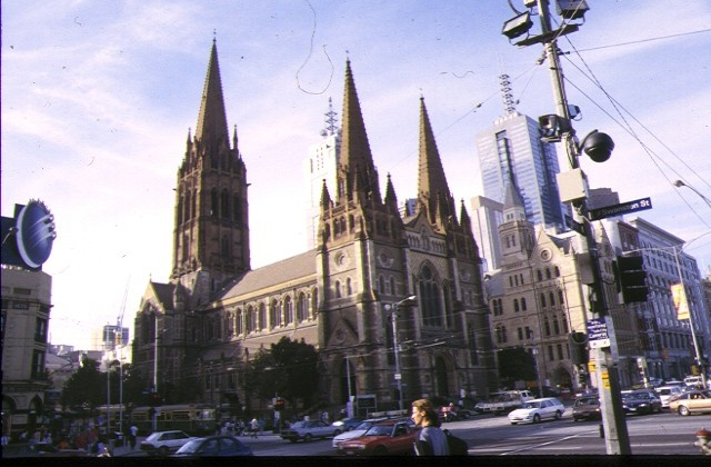 1 st pauls cathedral melb external view