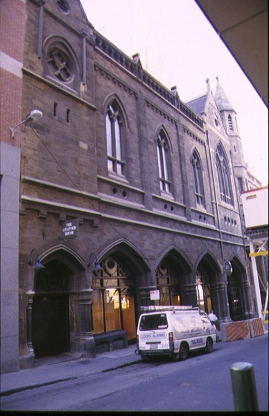 st pauls cathedral melb external chapter house