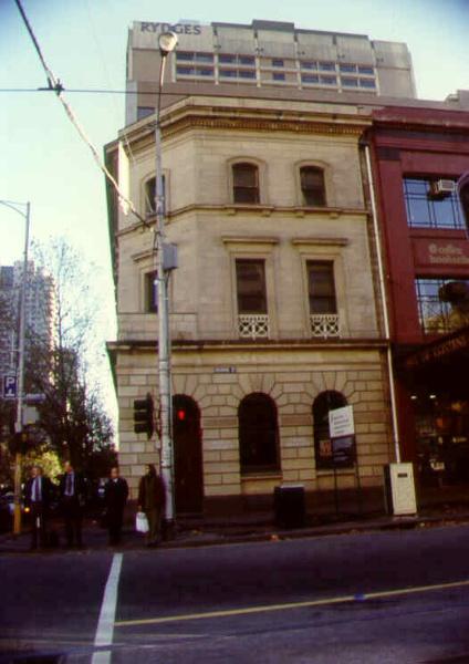 former london chartered bank bourke street elevation sw apr1999