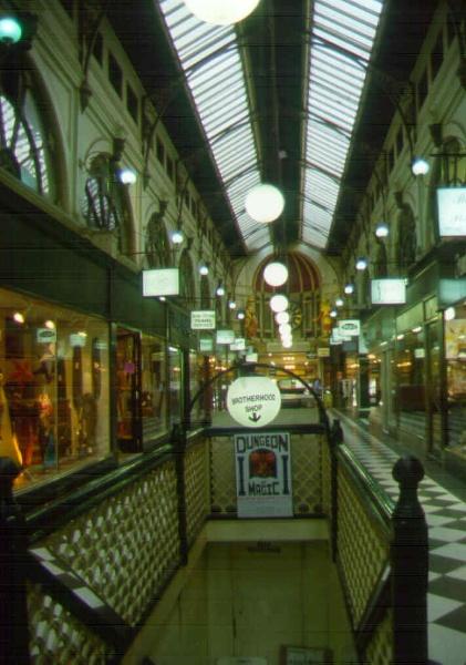1 royal arcade melbourne interior sw oct1999