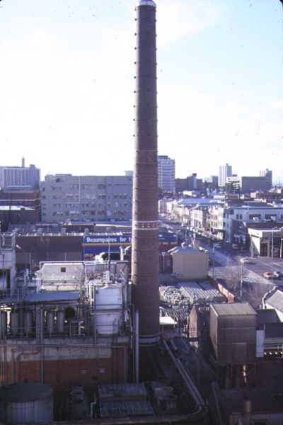 carlton brewery tower view