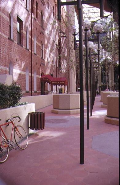 rialto building melb courtyard