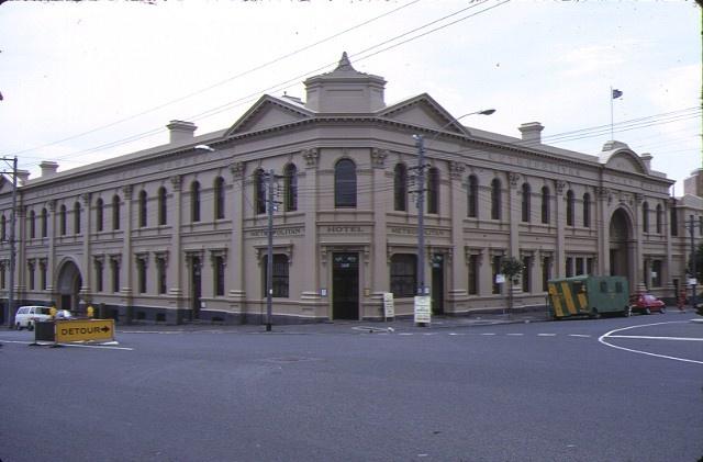 former metropolitan meat market nth melb front view