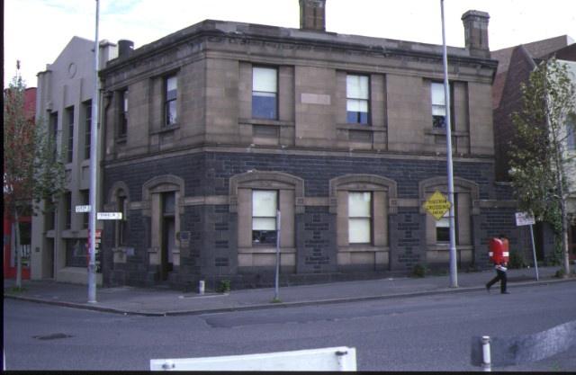 1 bank of nsw queen street melb external front view