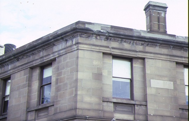 bank of nsw queen street melb roof detail