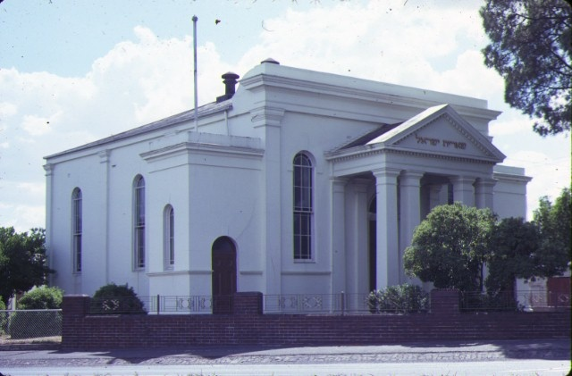 1 synagogue ballarat front view