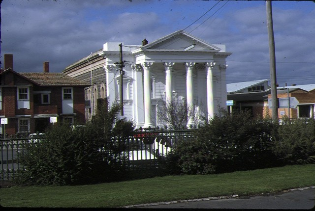 1 former baptist church ballarat front view