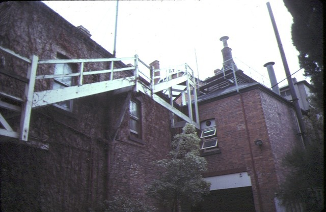 craig's royal hotel ballarat rear view