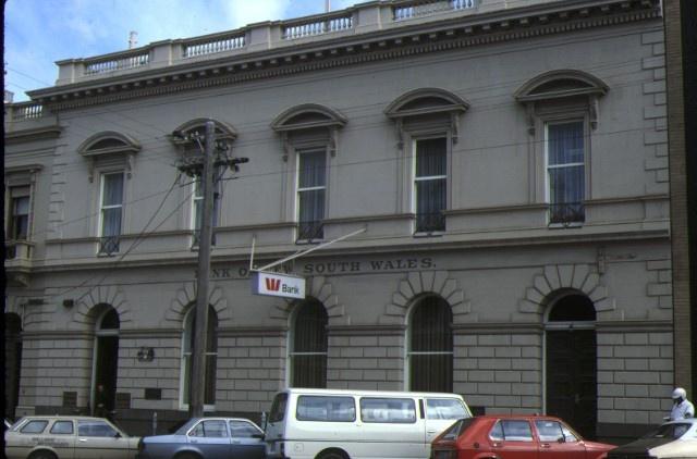 1 bank of nsw ballarat front view