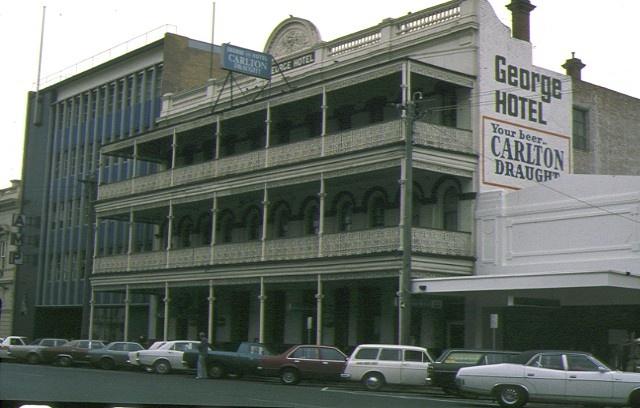 1 george hotel ballarat front view