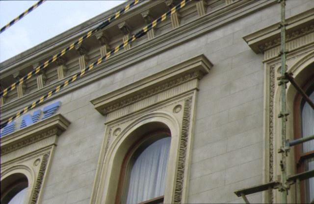 anz bank ballarat window detail