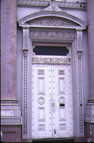 former commercial bank of austarlia bendigo detail entrance
