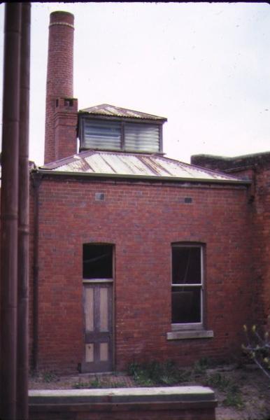 former commercial bank of australia bendigo rear view