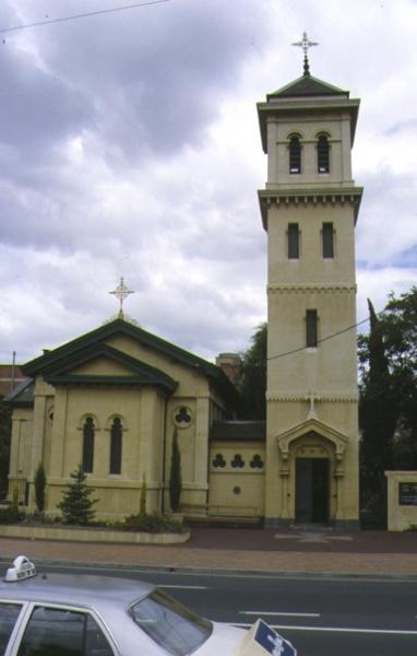 christ church brunswick tower