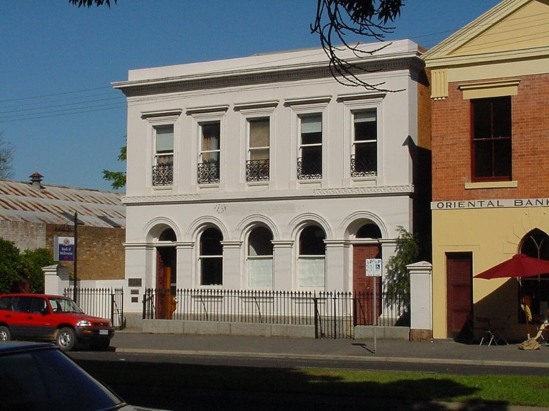 H00131 1 former bank of nsw castlemaine front elevation 2002
