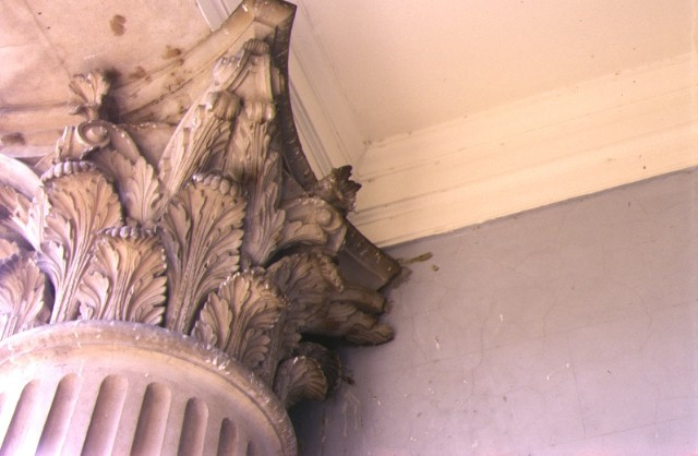earlsbrae hall essendon detail column capital