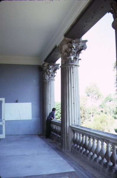 earlsbrae hall essendon view of balcony