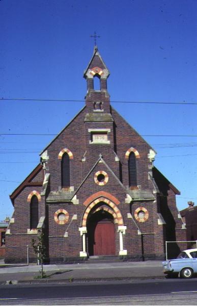 1 methodist church nicholson street fitzroy front elevation apr1978