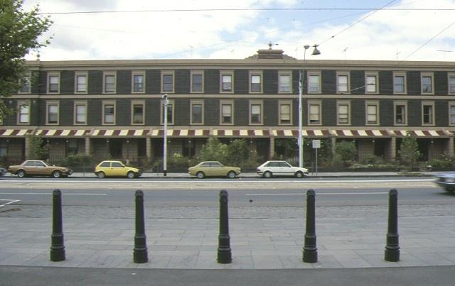 1 royal terrace nicholson street fitzroy front elevation feb1986