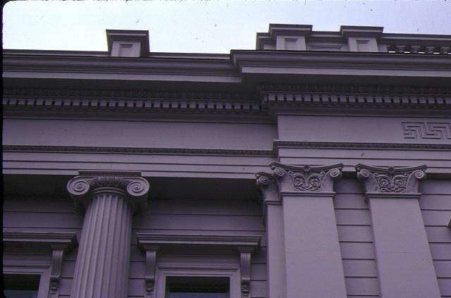 geelong town hall gheringhap street geelong column detail