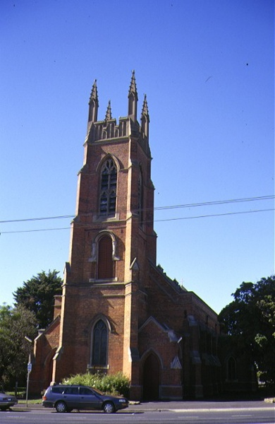 1 st pauls church of england geelong front view