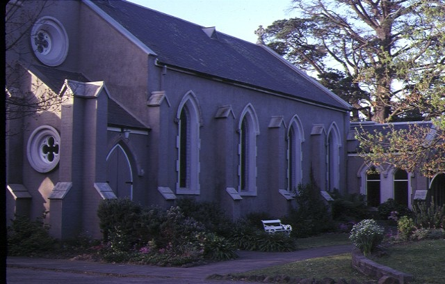 st johns anglican church heidelberg side view