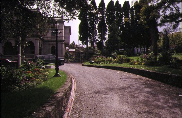 ravenswood ivanhoe driveway and gardens
