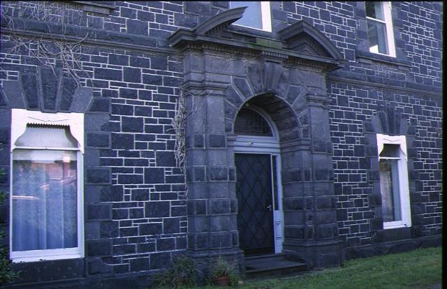 d'estaville kew detail of stone entrance