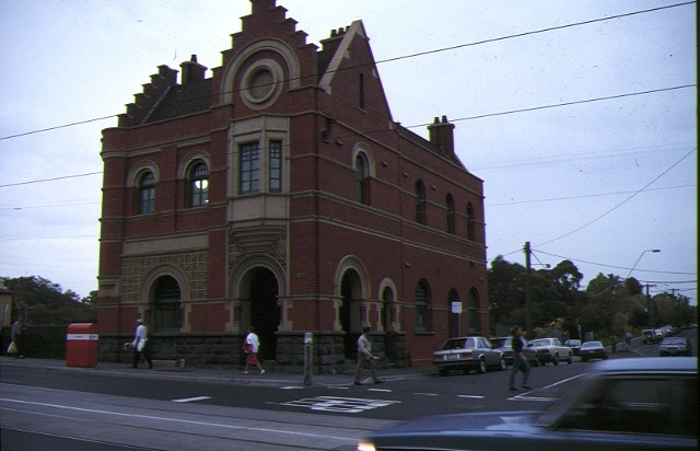 1 former south yarra post office south yarra front view
