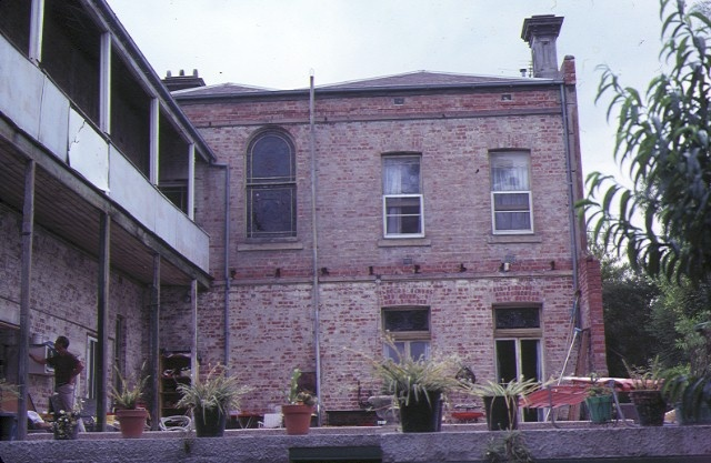 1 former lalor house church street richmond rear view