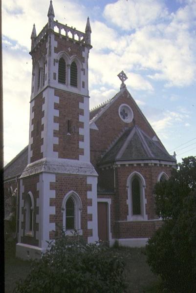 christ church old dandenong road dingley village front elevation