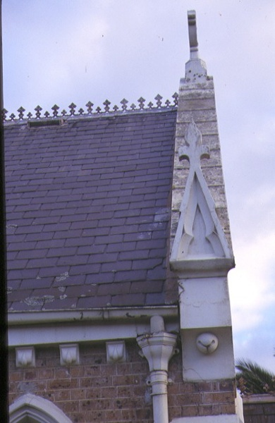 christ church old dandenong road dingley village roof view
