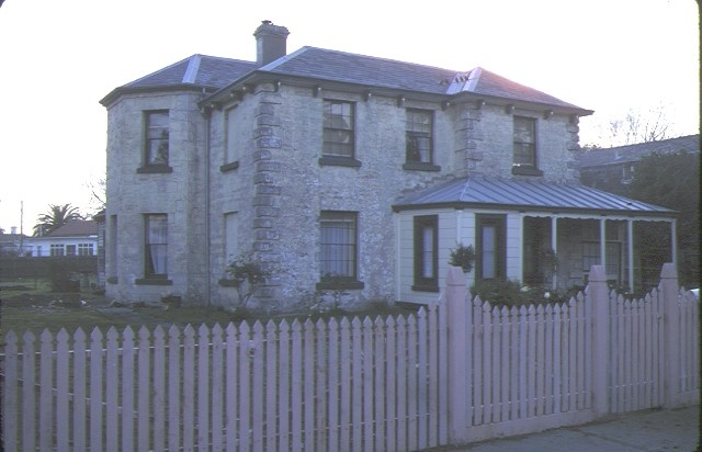 1 former presbyterian manse lyons street williamstown front view - c. early 1980s
