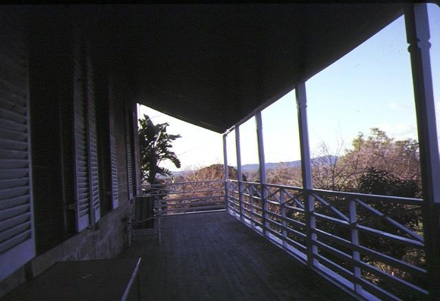 the hermitage murray valley hwy barnawartha view of verandah