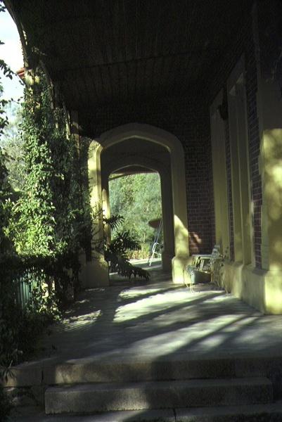 longerenong homestead jung via horsham verandah view